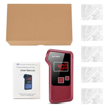 Alcohol-Detector Portable for Drunk-Driving-Ornaments Backlight-Light ACT2600 Blowing-Type