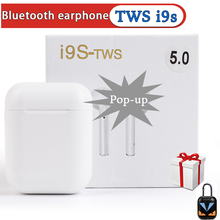 Wireless Bluetooth Earphones i9s TWS Sport True Earbuds With Accessories Dust Guard For i7s i10 i12 i200