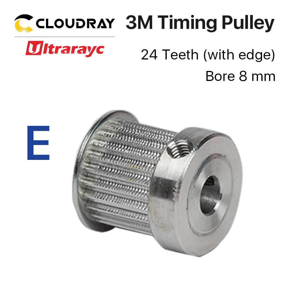 Smartrayc piezas de Metal láser CO2 engranaje sincrónico 6,35/8/12mm para DIY CO2 máquina cortadora de grabado láser