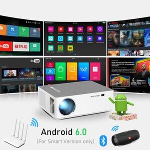 Image 4 - BYINTEK K20 Full HD 1080P 3D akıllı Android Wifi 300 inç ev sineması oyunu LED Video projektör projektör Beamer 4K sinema