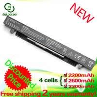 A41-X550 A41-X550A Golooloo 3300mAH Da Bateria do portátil para Asus X450 X550 X550C X550A x550v X550CA A450 A550 F552 K550 X550L P550