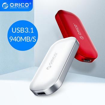 ORICO iMatch External SSD Hard Drive 1TB 500GB 250GB M.2 NVME Mini Portable SSD 10Gbps Solid State Drive for MacBook Users sandisk 250gb 500gb 1tb ssd solid state drive interface m 2 nvme 3d ssd solid state drive