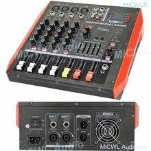 Новое поколение 800 Вт bluetooth аудио миксер 4 канала звук