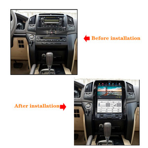 Image 2 - 13.6 inch Car radio tape recorder head unit multimedia player for TOYOTA LAND CRUISER 2016 2019 Car GPS Navigation for TOYOTA