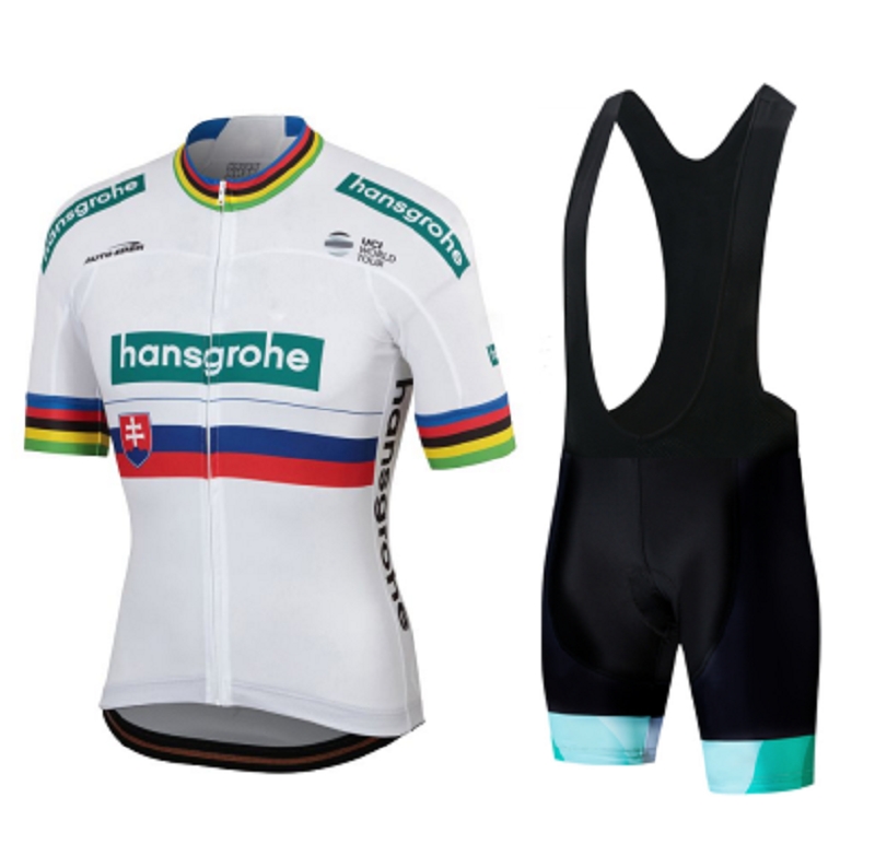Juegos de Jersey con almohadilla transpirable de Gel para hombre, camisetas de manga corta para verano