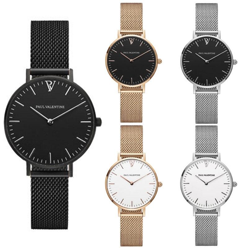 Women Quartz Wrist Watch men Hot Paul Style Fashion Vintage guiding principle Watch relogio valentined montre femme