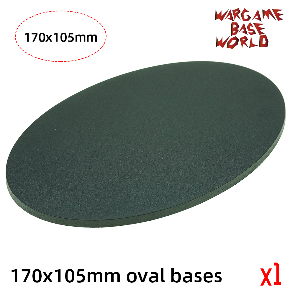 Gaming Bases Of 1pcs Of 170 X 105mm Oval Base