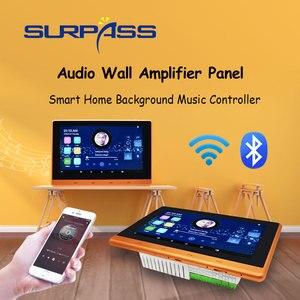 Image 1 - スマートホーム無線lan bluetoothタッチスクリーン壁アンプオーディオホームステレオサブウーファーandroidサウンドアンプでRJ45 RS485