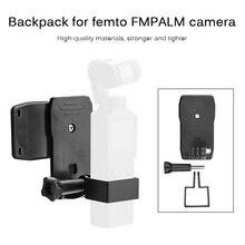 Fimi用ブラケットヤシハンドヘルドジンバルカメラ章設置削除バックパックマウントクリップ便利なシンプルな拡張