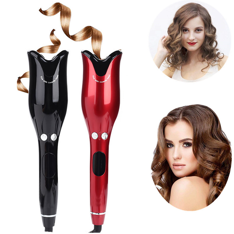 2020 Auto Hair Air Spin Curl 1 Inch Ceramic Rotating Electric Air Spin Hair Curlers Automatic Curling Iron for Hair Types tool(China)