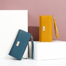 Women's Long Wallet Stylish And Versatile The New Multiple Card Slots Large Capacity Clutch Simplicity All-match Atmosphere