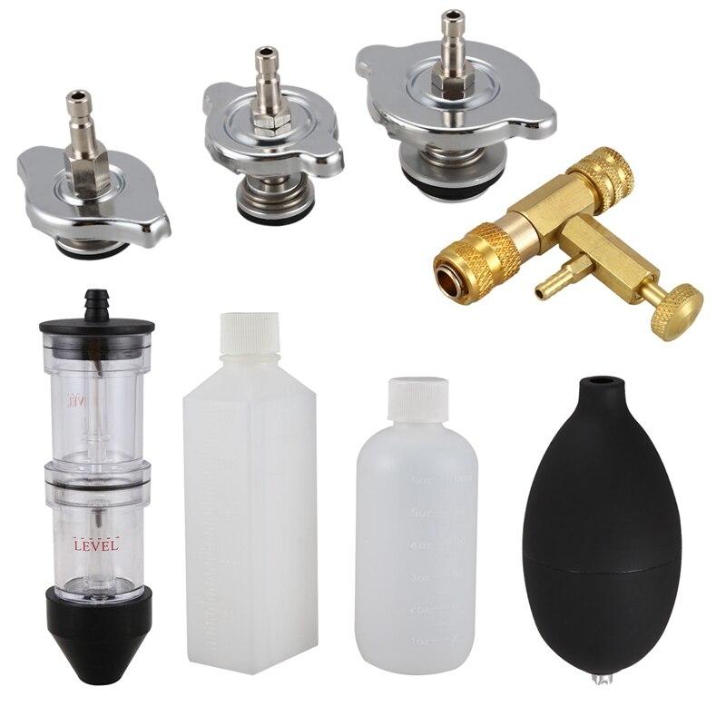 Head Gasket Leak Tester Combustion Leak Detector Cooling System Tester Co2 Gasket Gas Fluid Tool Set