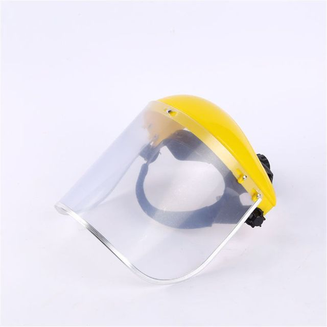 Anti-Saliva Dustproof MaskTransparent PVC Safety Faces Shields Screen Spare Visors Head Face Respiratory tract Protectio 4