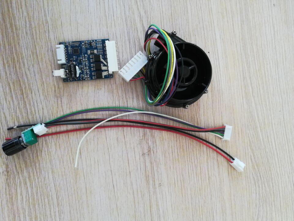 DC bezszczotkowy silnik napędzany wentylator dmuchawa BLDC 12V/24V DC wysoka prędkość z kontrolą PWM CPAP wentylator dmuchawa maszyna wspomagająca oddychanie dmuchawa