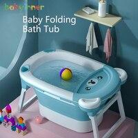 Baby Inner Child Bath Bucket Folding Tub 83*57cm Newborn Large Size Tub Household Infant Bathtub Baby Bath 0 6Years Old