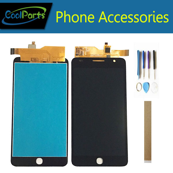 Original For Alcatel OneTouch Pop Star 3G 5022D OT-5022 5022X OT5022 LCD Display With Touch Screen Digitizer With Tools Tape