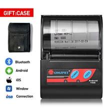 58mm 2 cal drukarka termiczna Bluetooth MTP II kieszonkowy przenośny Mini bezprzewodowa drukarka na telefon z systemem Android Windows darmowa aplikacja Loyverse