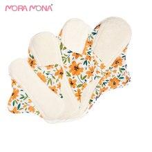 Panty-Liner Menstrual-Pad Sanitary-Napkins Recycle Bamboo Maternity-Pads Mama Pack 4pcs