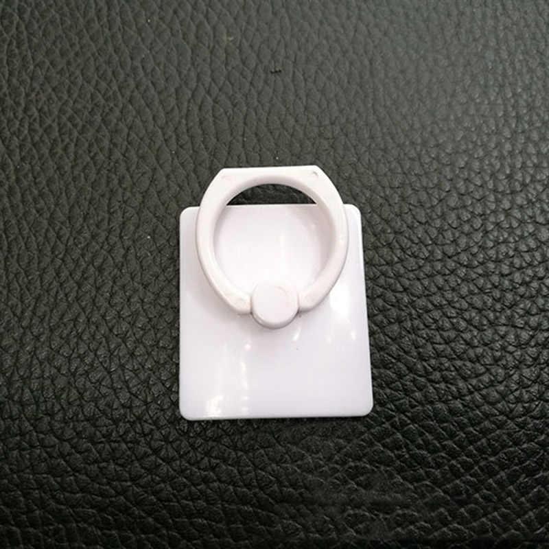 リングブラケットプラスチックリングバックル 360 度回転破砕にくいブラケット携帯電話ホルダースタンド