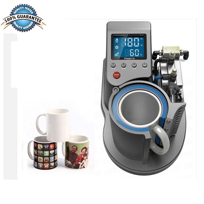 Пневматическая автоматическая термопресс машина для кружек 11 унций, термопереводная кофейная волшебная кружка, печатная сублимационная в...