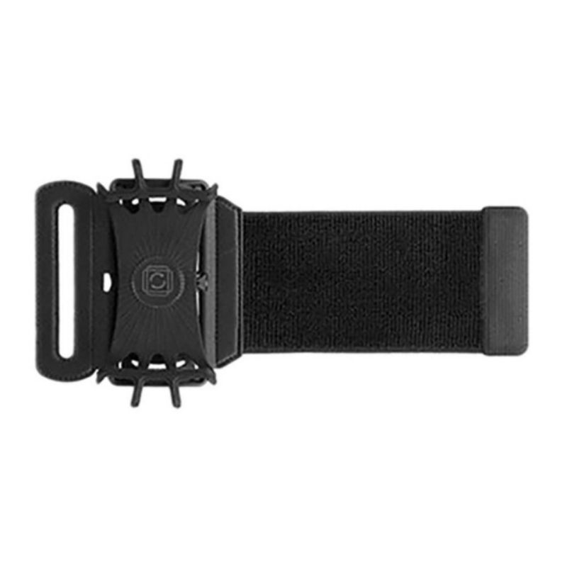 Running Armband 180 Degrees Rotatable Adjustable Silicone Phone Holder Case Outdoor Sports Arm Band Strap