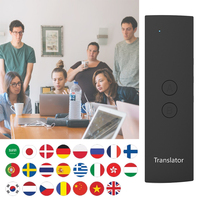 T6 Easy Languages Translator Portable Instant Multi language Smart Real Time Voice Translator For Travel Business Study