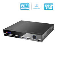 BESDER Mini 4CH POE NVR 48V 1080P HDMI Full HD Network Video Recorder CCTV System For POE Camera Home Security System ONVIF P2P