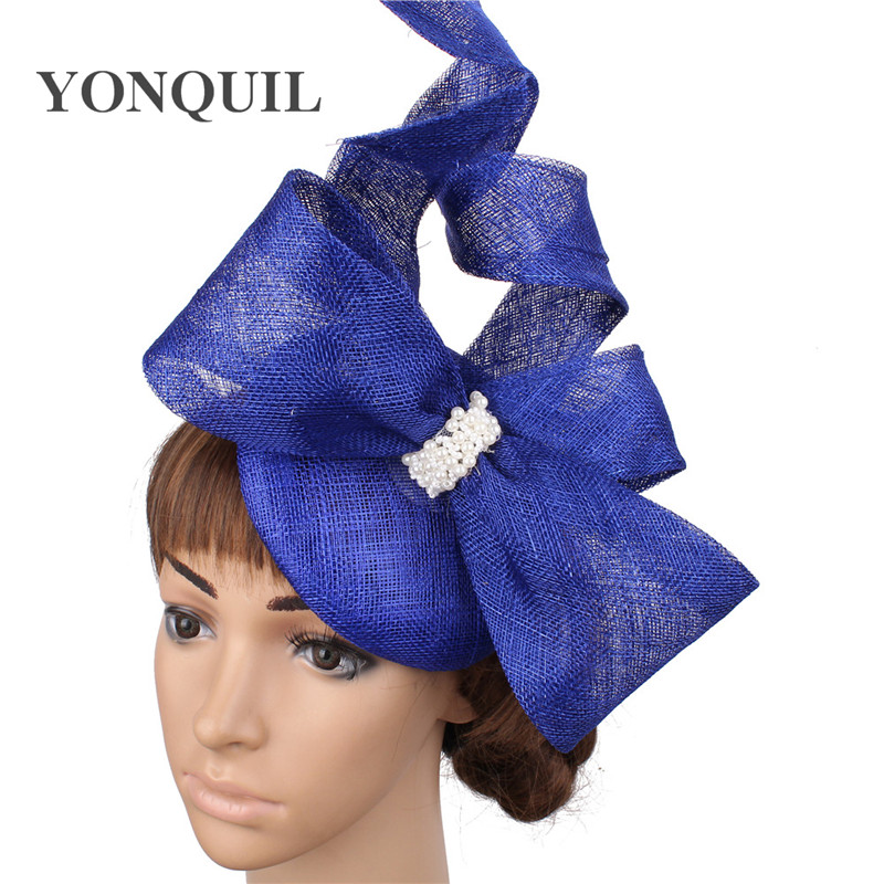 Race Occasion Royal Ascot Headband Clip Flower Wedding Hat Lilac Fascinator