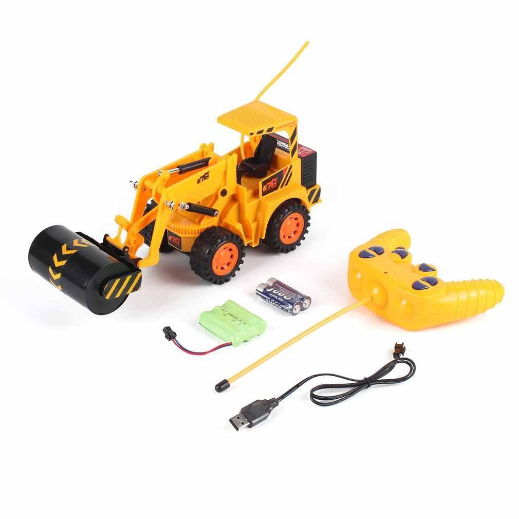OCDAY RC coche de construcción Vehículo de juguete de ingeniería Medel juguetes Control remoto truco camión de volteo modelo clásico juguete regalo para niño