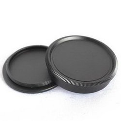 Metal Protective Body Front & Rear Lens Dust Cap Cover for M39 Screw Mount Camera Lenses Body Front Rear Cap