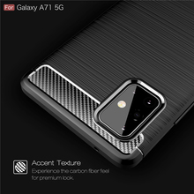 For Cover Samsung Galaxy A71 5g Case For Galaxy A71 5g Tpu Rugged Armor Silicone Bumper Phone Cover For Samsung A71 A716f Fundas armor phone case for samsung galaxy a51 cover tpu