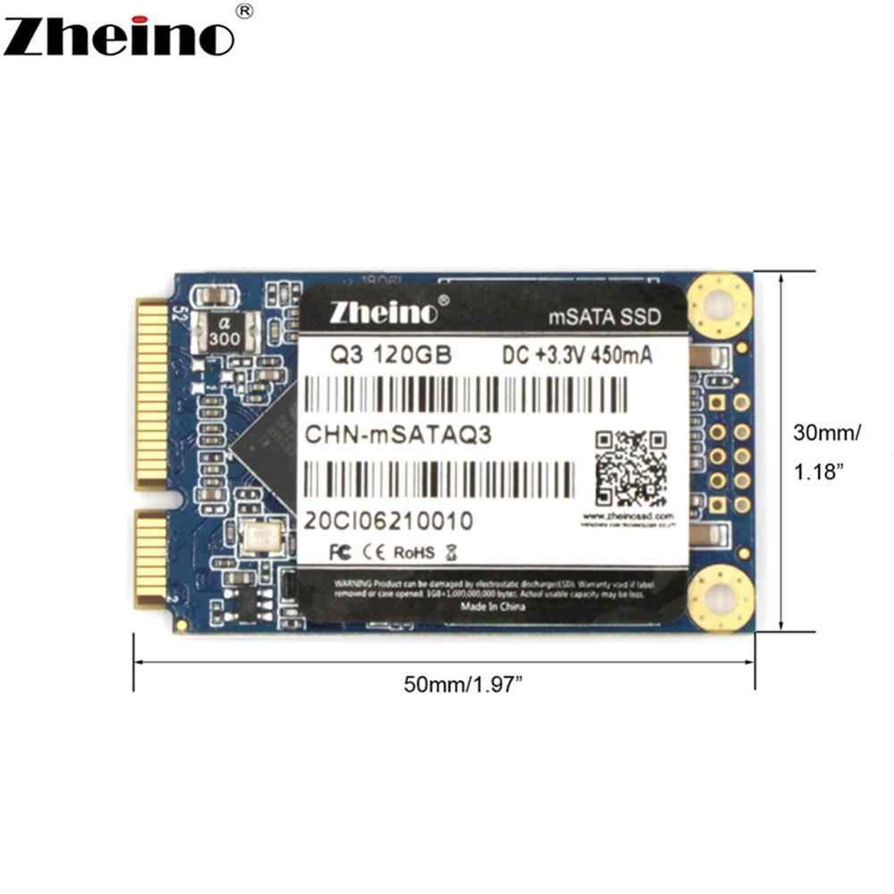 Zhejino mSATA SSD 120GB 240GB 480GB 128GB 256GB 512GB 1TB 6 GB/S mini discos SATA de unidad de estado sólido interno para ordenador portátil de escritorio