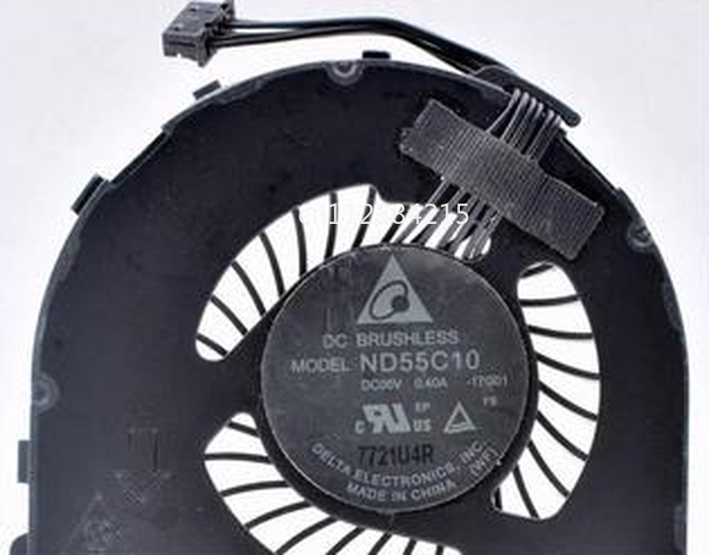 Free Shipping ND55C10-17G01 5V 0.40A  For  Lenovo  ThinkPad L560 Built-in CPU Cooling Fan