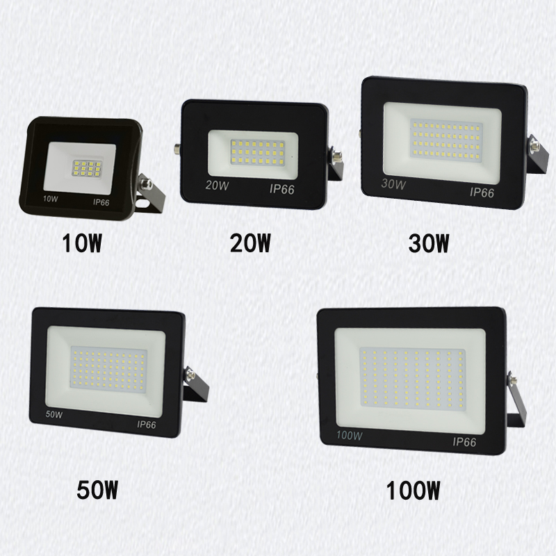 LED Wall Washer Lamp 10w 20w 30w 50w 100w Led Flood Light RGB AC85-265V Search Floodlights Led Lamp Recessed Led Outdoor Lights