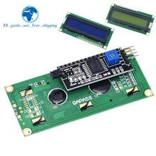 Модуль ЖКД синий зеленый экран IIC/igc 1602 для arduino 1602 lcd UNO r3 mega2560 lcd 1602