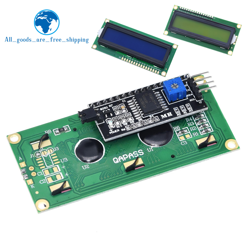 Модуль ЖКД синий зеленый экран IIC/I2C 1602 для arduino 1602 LCD UNO r3 mega2560 LCD1602