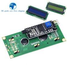 وحدة LCD الأزرق شاشة خضراء IIC/I2C 1602 لاردوينو 1602 LCD UNO r3 mega2560 LCD1602