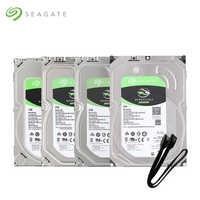 Seagate 1TB 2TB 3TB 4TB 6TB 8TB 10TB 12TB Desktop HDD Interne festplatte 3,5 ''5400 RPM SATA 6 Gb/s Festplatte Für Computer