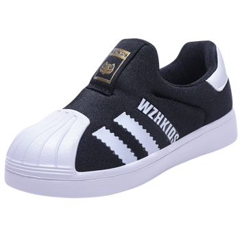 2020 New Spring Autumn Kids Shoes For Boys Sneakers Casual Mesh Slip-on Children Shell Head Shoes Girls Fashion Running Shoes new spring kids shoes breathable boys girls sport white canvas shoes children casual shell head sneakers baby running shoes
