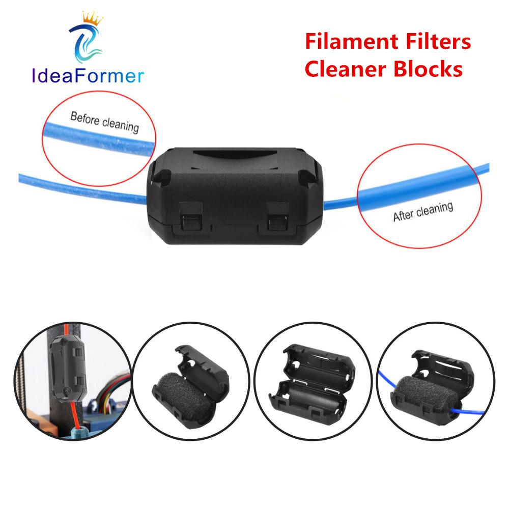 3D Printer Parts Filament Filters Dust Removal Flame Foam Cleaner Blocks For A6 A8 CR10 Ender 3 PRUS