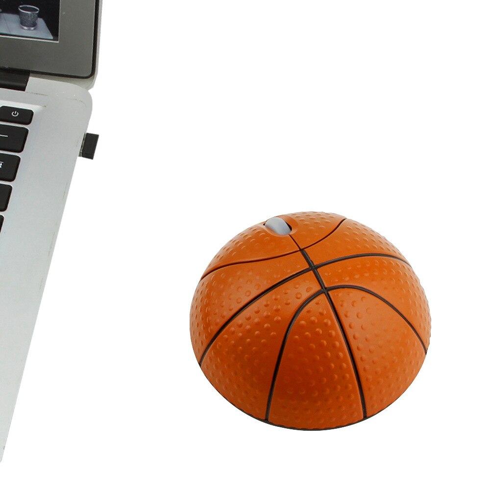 Оригинальная Беспроводная игровая мышь XQ 2,4G для баскетбола, футбола, персонализированная офисная мышь в подарок, персонализированная мультяшная игровая мышь-2