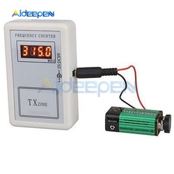 Digital Frequency Tester Meter Counter Handheld Wireless Remote Control 250-450 MHZ Tester Tools DC 7.5-10 V 10cm Test Distance