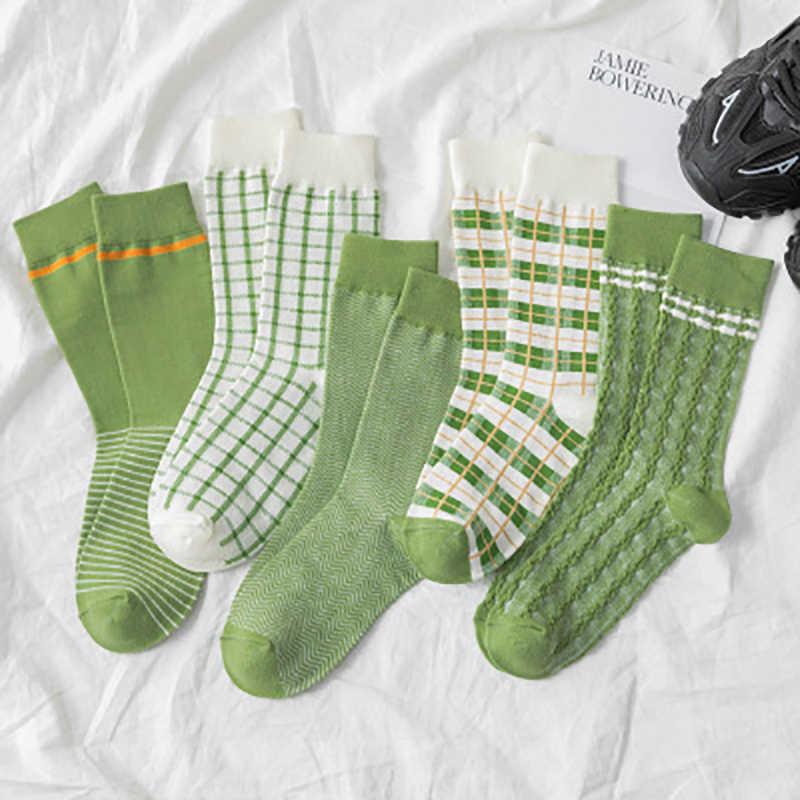 2020 новые женские носки Harajuku Модные полосатые носки милые повседневные универсальные хлопковые дышащие мягкие носки в студенческом стиле Корейская версия