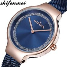 цена на Shifenmei Women Watches Top Brand Luxury Ladies Quartz Watch Waterproof Women's Wristwatch Fashion Girls Clock Relogios Feminino