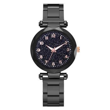 Simple 2020 Luxury Women Watches Starry Sky Rose Gold Analog Quartz Wristwatch Ladies Female Watch Dress Clock Relogio Feminino
