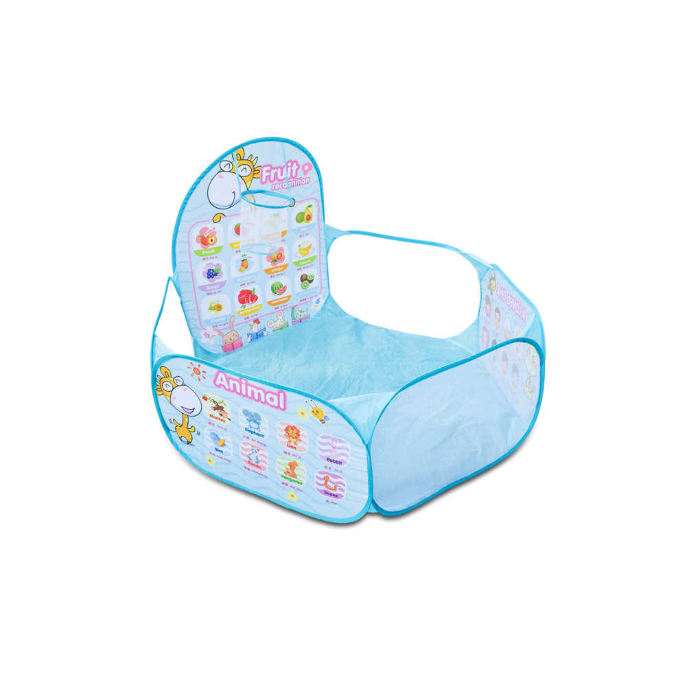 Bayi Boks Safety Tenda untuk Anak-anak Indoor Bola Kolam Renang Bermain Tenda Anak-anak Polka Dot Hexagon Boks Portable Foldable Playlist Laut