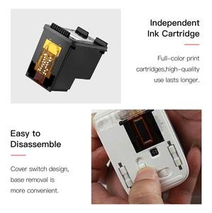 Image 4 - MBrush Mini Portable Color Printer Customized Text Smartphone Wireless Printing Inkjet Printer 1200dpi with Ink Cartridge