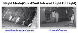 Image 5 - Kamera typu Bullet IP Sony IMX307 + 3516EV200 3MP 2304*1296 H.265 niskie oświetlenie IRC Onvif CMS XMEYE detekcja ruchu chłodnicy