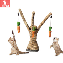 Cat Scratching Post Tree Scratcher Pet Kitten Claw Protector For Furniture Sofa Sisal  Play Toys Climbing Frame Solid