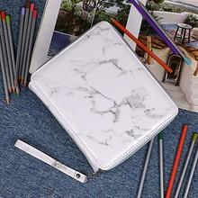 120 Lỗ Trường Chì Lớn Phác Thảo Pencilcase Nghệ Thuật Bút Túi Kawaii Dễ Thương Đa Năng Hình Phạt Túi Hộp Đồ Dùng Học Tập